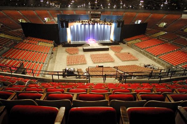 Coliseum Set Up